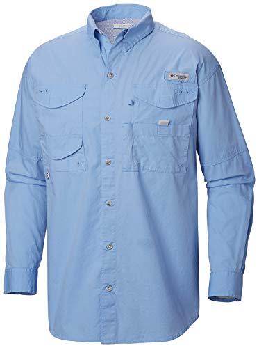 Columbia Herren Bonehead Langarm T-Shirt Angeln (weiße Kappe, 4 XT) - Columbia Bonehead Shirt Angeln