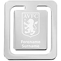 FREE PERSONALISATION Official PERSONALISED Aston Villa FC Crest Cufflinks