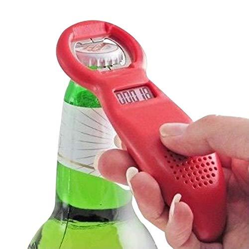TotalCadeau Flaschenöffner mit Zähler Digital