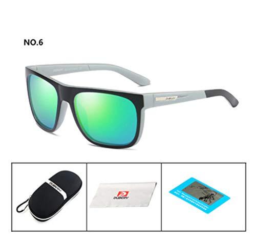 KOMNY Radsport-Sonnenbrille für Herren und Damen polarisierte Sonnenbrille UV-Schutz polarisierte Sonnenbrille, F