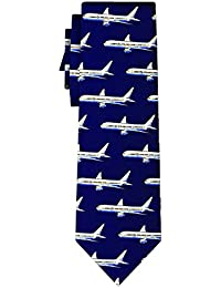 cravate passenger jets navy