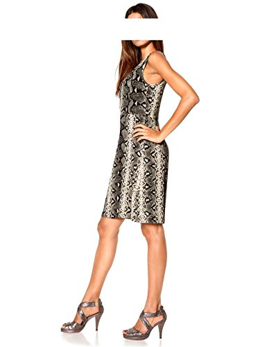 Ashley Brooke - Robe - Opaque - Femme Multicolore Taupe Gris - Taupe