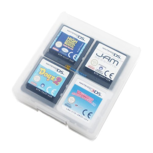 Card Cases 3ds-game Nintendo (Decrescent 16 Spiele-Kartentasche für Nintendo 3DS, 2DS, DSi, DS Lite & Original DS - Transparent)
