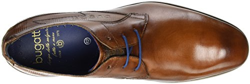 Bugatti 312105071100, Derby Homme Marron (Cognac 6300)