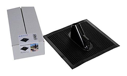 assat-40351-alu-dachziegel-mit-kabeldurchfuhrung-45-x-50-cm-schwarz