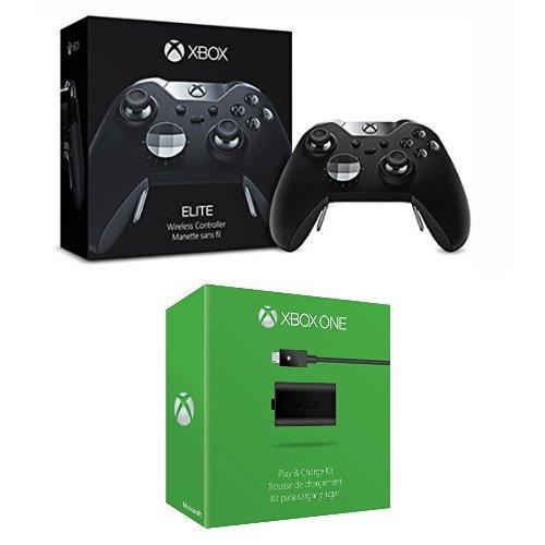 Xbox One - Elite Controller Wireless & Xbox One Spiel- und Ladekit