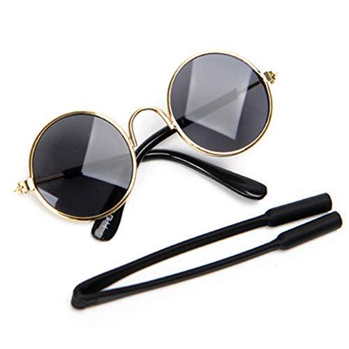NBRTT Brille Pet Sonnenbrille Katze Hund Mode Augenschutz Tragen Fotografie Requisiten Hunde Auge Tragen Coole Fotos Sonnenbrille Stilvolle Brille wasserdichte Sonne Für Welpen