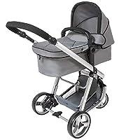 TecTake 3 in 1 Pushchair stroller combi stroller buggy baby jogger travel buggy kid
