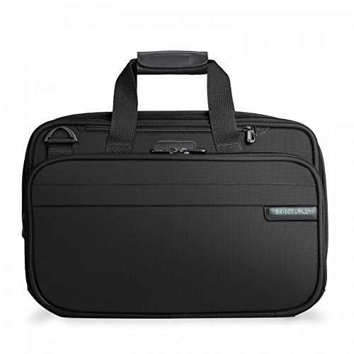Briggs & Riley Baseline Expandable Cabin Bag, 40.2 litres, Black Bolso de viaje, 42 cm, liters, Negro (Black)
