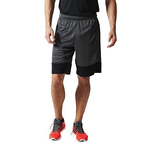 adidas Herren Shorts PRIME, Schwarz/Grau, M, 4056558958900