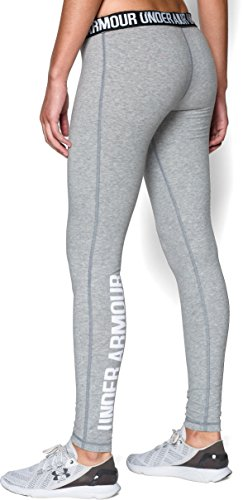 Under Armour Wordmark Legging Femme Carbon Grey