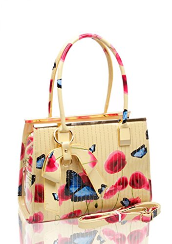 Craze London, Borsa a spalla donna ALMOND HANDBAG