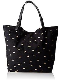 Petite Mendigote - Clea Kiss, Bolsos bandolera Mujer, Noir (Black), 10x33x22 cm (W x H L)