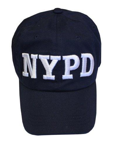 New York Cops-NYPD Baseball Hat New York Polizei Marineblau & Weiß One Size
