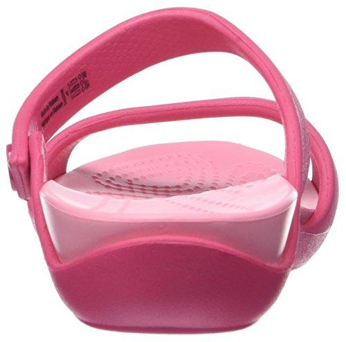 Crocs Cleo V, Sandales Bout Ouvert Femme Rose (Paradise Pink)