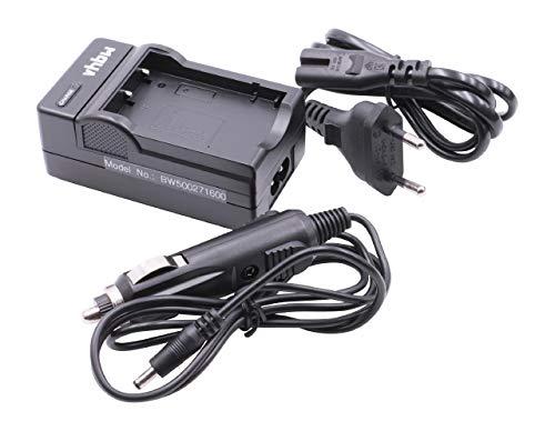 Bloc d'alimentation Allume-cigares pour Batteries Fuji NP-40 / NP-40N / Pentax D-Li8 / Panasonic CGA-S004 / Samsung SLB-0737
