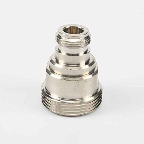 Demino L29 16.07 Din N-Stecker zu-Buchse RF Koaxial Durable Kupfer Adapter Silber Low-Loss-Anschluss - Low Loss-anschluss