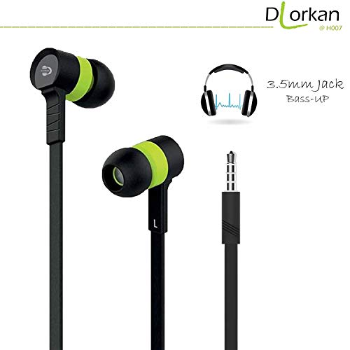 DLORKAN DL_H007-2592 for Vivo Y55s (Crown Gold, 16 GB) (3 GB RAM) in-Ear Headphones/Earphone/Headsets Fab Sound 3.5mm Jack with Microphone and Call Controller (Color May Vary)