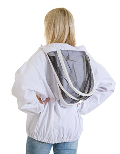Buzz Workwear Beekeepers Tunic with fencing/astronaut veil -2XL 4