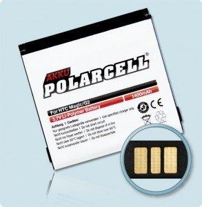 Li-Polymer Akku 1400mAh PDA und Smartphones HTC Magic Vodafone Google G2