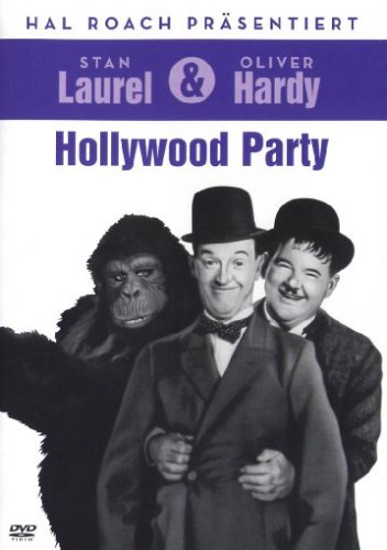 Laurel & Hardy - Hollywood Party