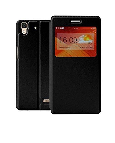 Helix Dustproof Window Leather Premium Flip Cover for Samsung Galaxy On7 / Samsung Galaxy On7 Pro