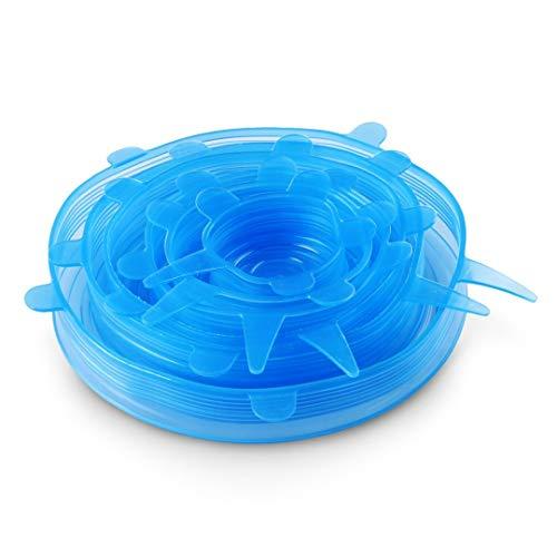 ORBLUE Tapas de silicona elásticas, paquete de