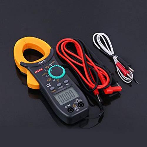 Corneliaa-DE Universal Handheld Digital Clamp Meter AC/DC Multimeter Current Clamp Tester Ac Current Clamp Meter