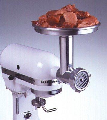 Aluminium Fleischwolf zur KitchenAid® - A150023