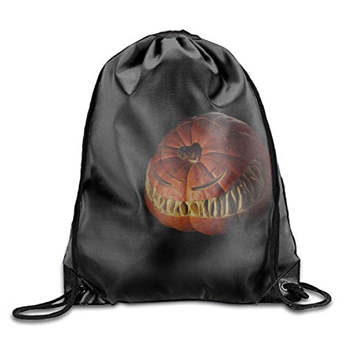 Naiyin Holiday Halloween Pumpkin Travel Drawstring Bag Shoe Laundry Underwear Makeup Storage Pouch Holiday Halloween Pumpkin3 Lightweight Unique 16.9x14.2 -