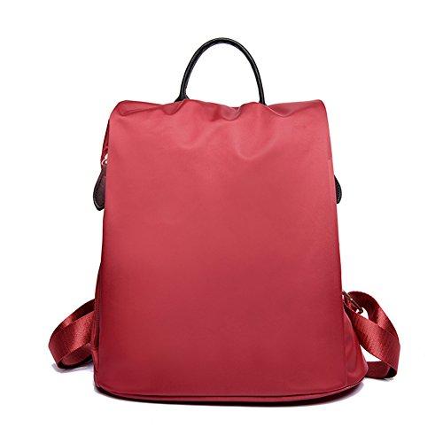 Yokeeyoo, Borsa a zainetto donna rosso Crimson Misura unica Crimson