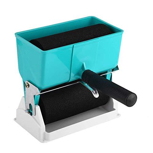 Portable manuel réglable Applicateur de colle avec 2 rouleaux à économie d'énergie Gluer pour revêtement de menuiserie DIY Works (15,2 cm)
