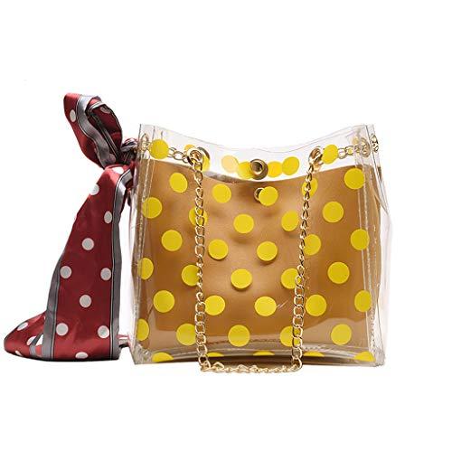 Mitlfuny handbemalte Ledertasche, Schultertasche, Geschenk, Handgefertigte Tasche,Frauen Umhängetasche Seidenschal Transparent Wild Child Bucket Bag