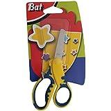 Bat - Tijeras escolares coloridas-[Color:Amarillo]