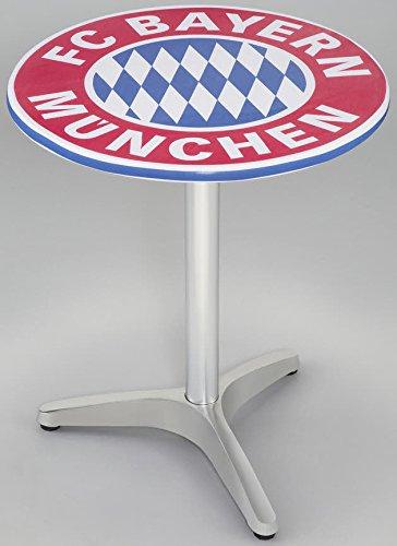 FC Bayern München Bistrotisch-Bezug Husse mit Logo Durchmesser 60cm
