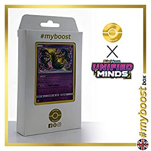 Giratina 86/236 Holo - #myboost X Sun & Moon 11 Unified Minds - Box de 10 cartas Pokémon Inglesas