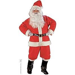 WIDMANN Déguisement père Noël américain Adulte (complet)