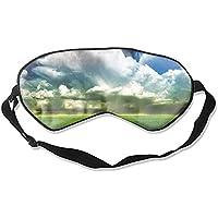 Earth Dreamy World Schlafmaske, lichtblockierend, Memory-Schaum, verstellbarer Riemen, Schlaf-/Schichtarbeit/Nickerchen... preisvergleich bei billige-tabletten.eu