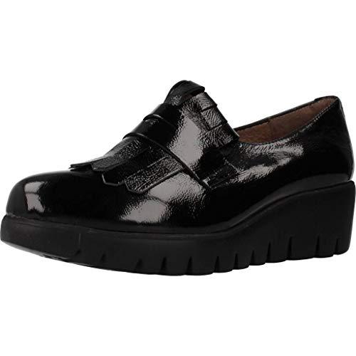 Wonders Zapatos Mujer C33175 para Mujer Negro 37 EU