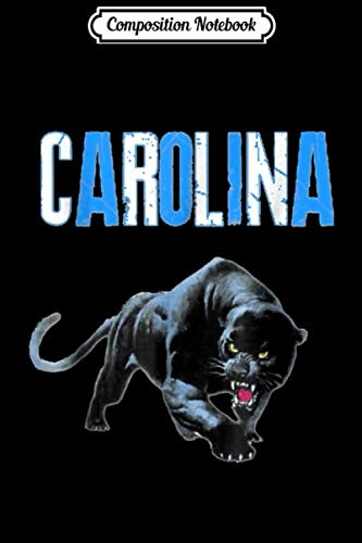 Composition Notebook: Football fans (Panthers) 704 980 Journal/Notebook Blank Lined Ruled 6x9 100 Pages