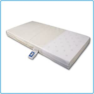 DEEP COMFORT Airflow Cot Mattress 117x56x10 cm by ebabygoods