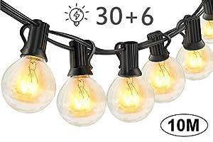 Guirnaldas luminosas de exterior,LECLSTAR G40
