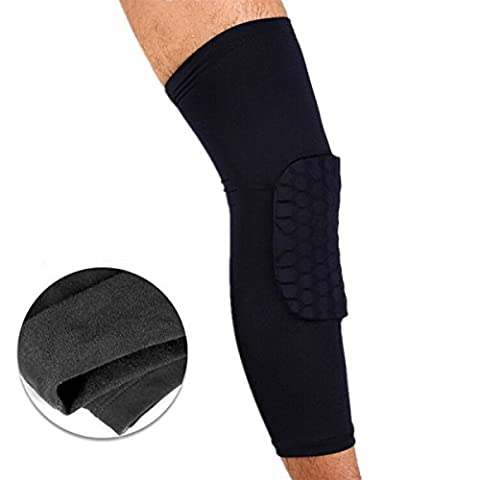 TAO Kneepad Thick Winter Warm Anti-collision Basketball Leggings (single Only),L