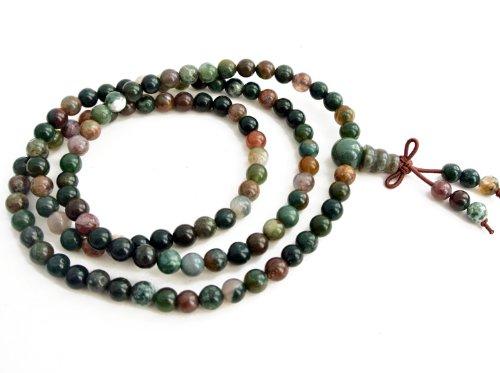 Agathe Creation - Bracciale-rosario buddista, può essere aumentato e diventare