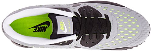 Nike Air Max 90 Ultra Br, Chaussures de Running Entrainement Homme Gris (wolf Grey/black/white/volt)