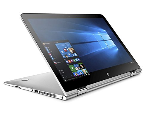 HP Spectre x360 (15-ap006ng) 39,6 cm (15,6 Zoll / UHD IPS) Convertible Notebook (360° Laptop, Intel Core i7-6560U, 16 GB RAM, 512 GB SSD, Windows 10) silber