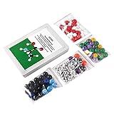 Nihlsen Modello di Modello molecolare 239 PCS, OCDAY Chimica Organica e inorganica Set di Modelli di Modello molecolare (86 Pezzi di atomi e 153 Parti di Bonds) -Multicolor-1 Size