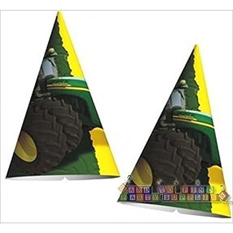 John Deere Cone Hats (8ct) by Designware