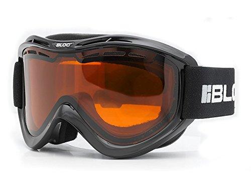 Bloc Goggles Venom VM4Shiny Black Venom Goggles by Block 28