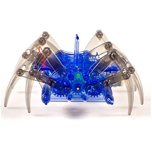 noDNA We love robotics Spider Robot Spinnen-Roboter Kinderspielzeug zum Selbst Bauen Do It Yourself Spinnenroboter mit 8 Beinen DIY Robotik-Bausatz für Kinder ab 8 Jahren
